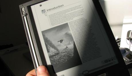 FOTO: Ebook čtečka