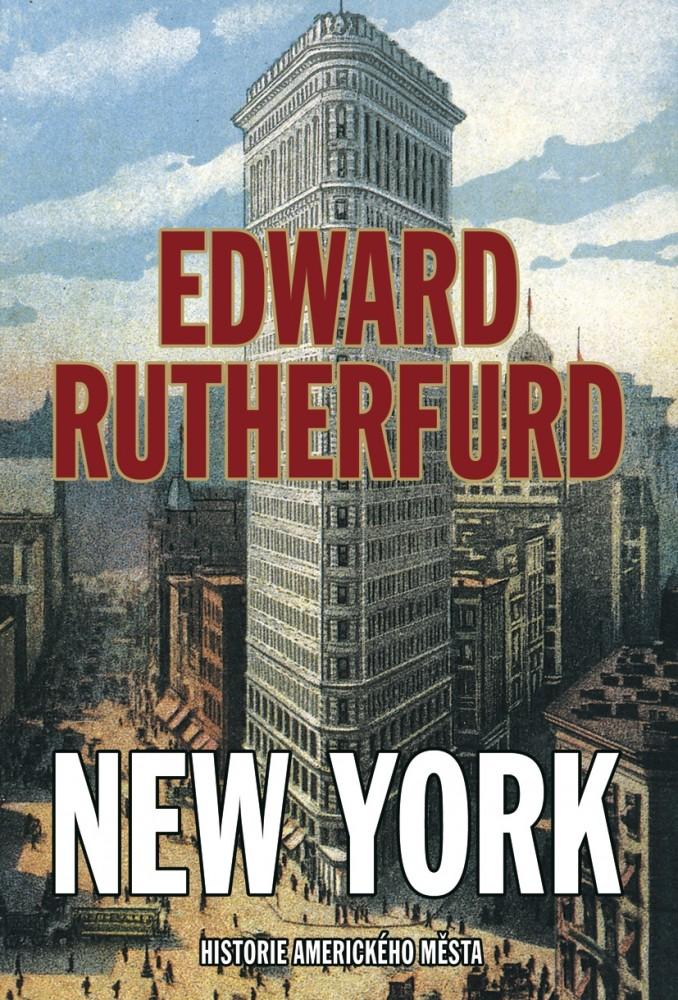 obálka Edward Rutherford: New York