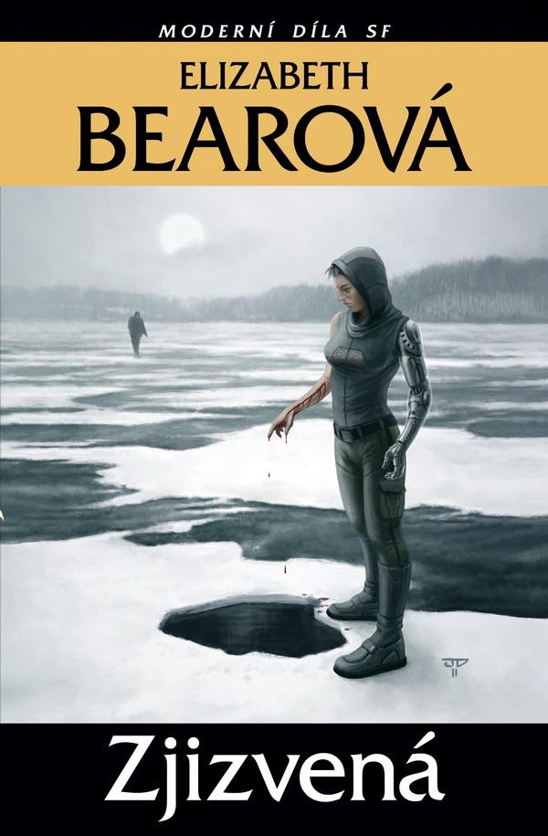 Elizabeth Bearová: Zjizvená (obálka)