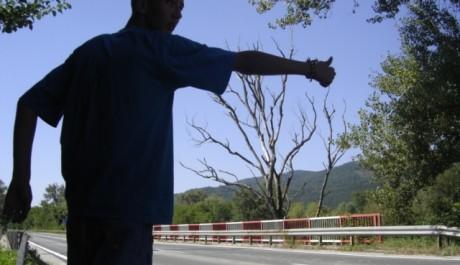 FOTO: Kontroverzní autostop, nejlevnější spolujízda