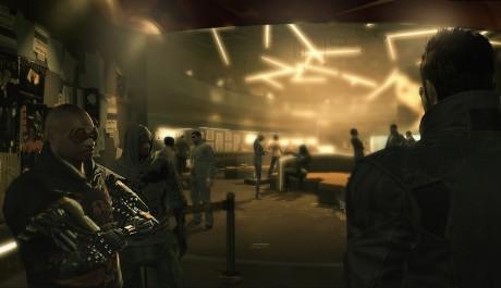 Deus Ex: Human Revolution - Hive club