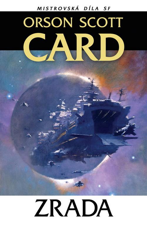 Orson Scott Card: Zrada (obálka)