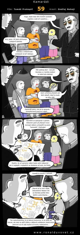 Ronaldův svět: #59 - Kamarádi