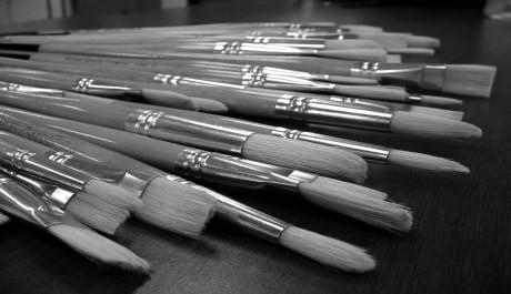 FOTO: Sada malířských štětců