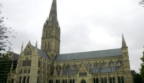 FOTO: Katedrála v Salisbury