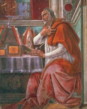 Sandro Botticelli - sv. Augustin