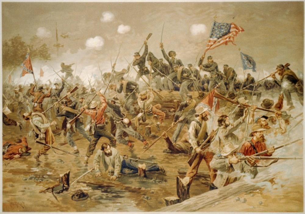Thure de Thulstrup - Battle of Spotsylvania
