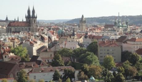 FOTO: Výhled na Prahu z Letné