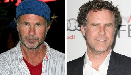 FOTO: Chad Smith a Will Ferrell