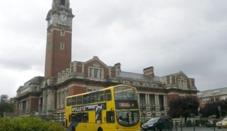 FOTO: Yellow bus