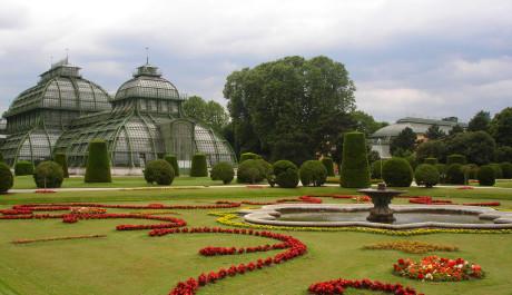 FOTO: Zahrada u vídeňského Schönbrunnu