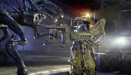 Aliens colonial marines robot