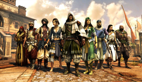 SCREENSHOT: Assassin's Creed Revelation, MP postavy