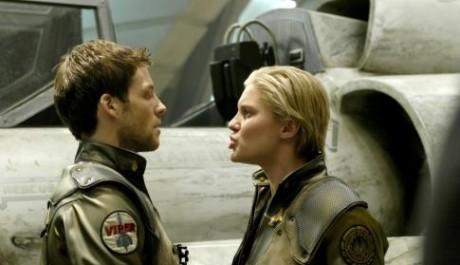 FOTO: obrázek ze seriálu Battlestar Galactica