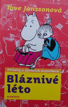 Blaznivé léto Tove Janssonová (obálka knihy)