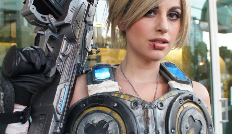 Gears of War Cosplay Anya Stroud