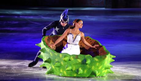 foto Popelka na ledě