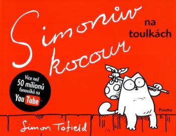 OBR: Obálka komiksu Simonův kocour na toulkách