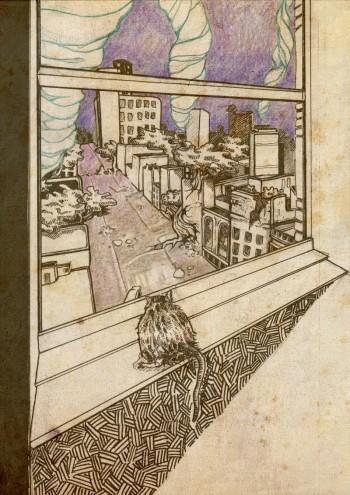 OBR: Ilustrace Štěpánky Jislové k povídce Zkáza ráje