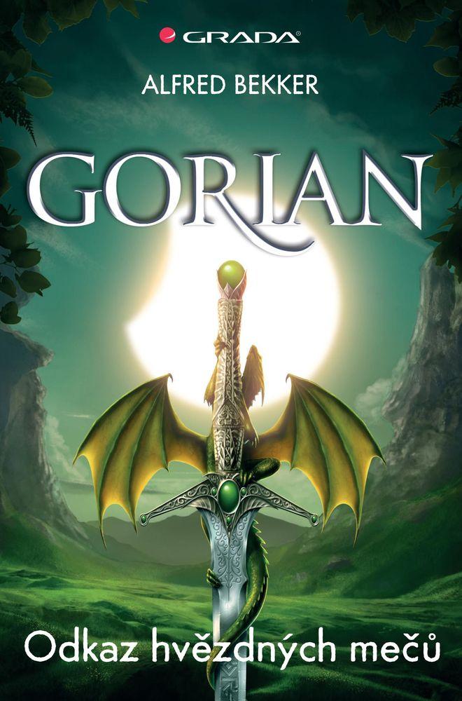 OBR: Obálka knihy prvního dílu Odkaz hvězdných mečů z cyklu Gorian