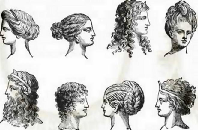 прически богини древней греции фото.