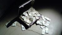 Kufr s penězi