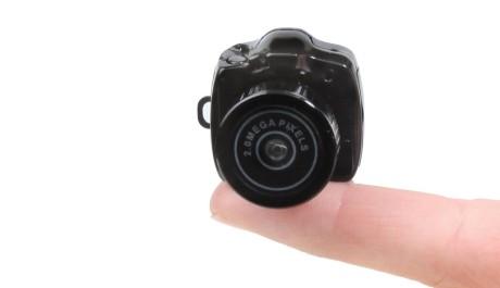 FOTO: Nejmenší fotoaparát na světě