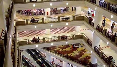 FOTO: Obchodní centrum