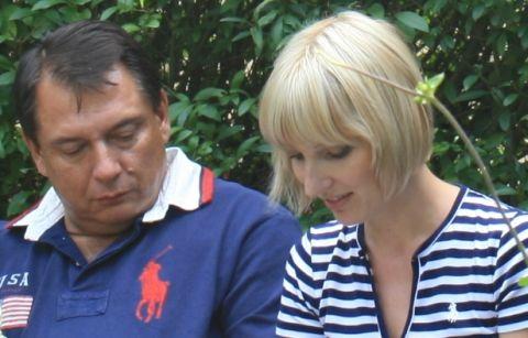 FOTO: Jiří Paroubek a Petra Paroubková