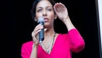 FOTO: Kanadská herečka Rekha Sharma na festivalu FanCity 2011