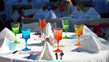 FOTO: Svatební hostina