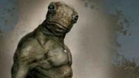 OBR: Film Válka s mloky - výtvarný návrh mloka