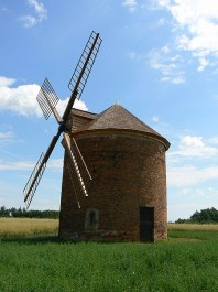 FOTO: větrný mlýn Chvalkovice