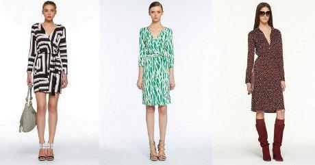 FOTO: Zavinovací šaty Diane von Furstenberg