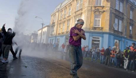 FOTO: Nepokoje na severu Čech, Vandsdorf, FOTO: Stanislav Krupař