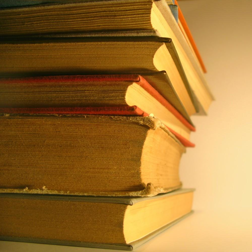 FOTO: Knihy, frazém