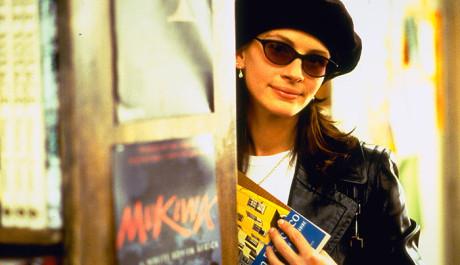 FOTO: Anna ve slavném knihkupectví v Notting Hill