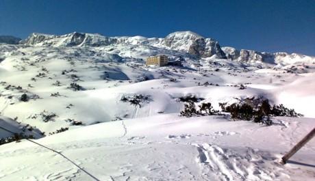 FOTO: Středisko Dachstein West v Rakouských Alpách