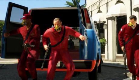 GTA 5 Charaktery