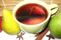 Svařené víno s jablky a hruškymi