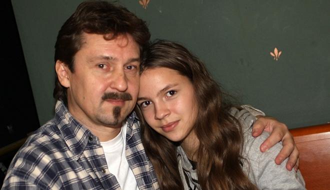 FOTO: Patricia Janečková s tatínkem