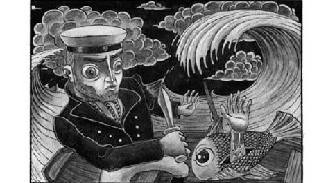 Ukázka z příběhu Triton Autor: Knut Larsson