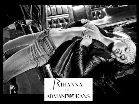 FOTO: Rihanna pro Armani Jeans