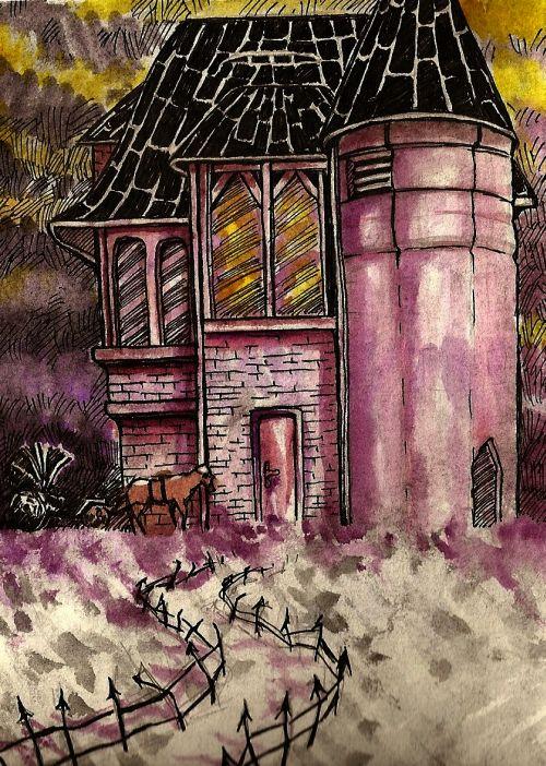 Ilustrace - Štěpánka Jislová - Rozbřesk
