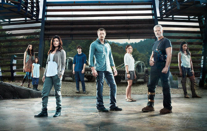 FOTO: obrázek ze seriálu Terra Nova