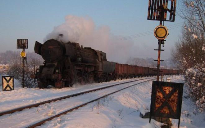 FOTO: Parní lokomotiva v Bosně