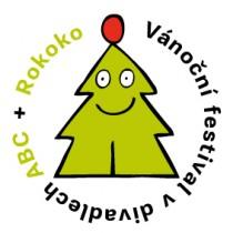 FOTO: Logo Vánočního festivalu, který organizuje Divadlo ABC a Rokoko