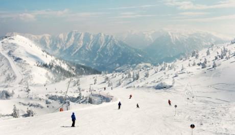 FOTO: Pohled na zasněžené Alpy je pastvou pro oči