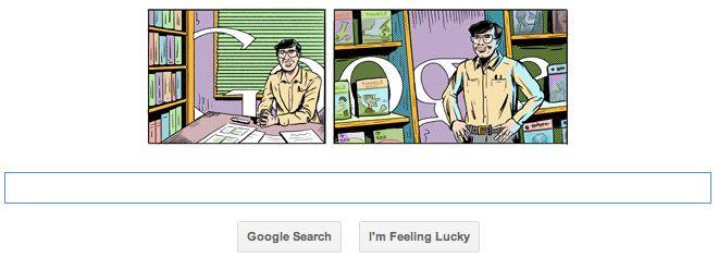 OBR: Sváteční logo Googlu k nedožitým 82. narozeninám Ananta Paie