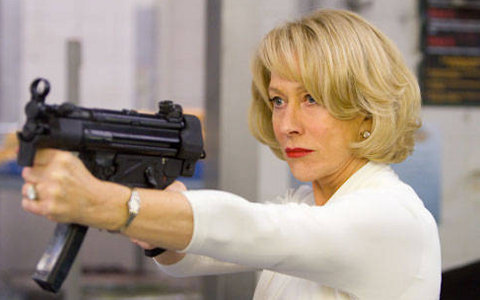 FOTO: Helen Mirren ve filmu RED